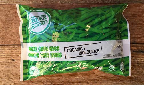 Organic Green Beans (Frozen)- Code#: FZ8008