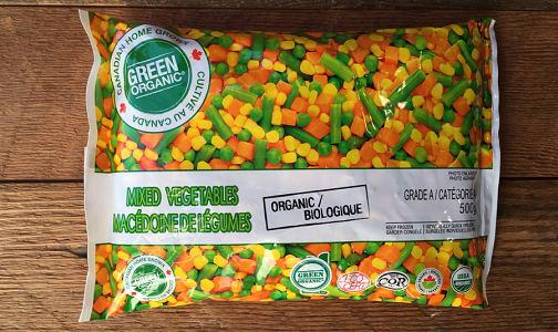 Organic Mixed Veggies - Peas - Corn - Beans (Frozen)- Code#: FZ8010