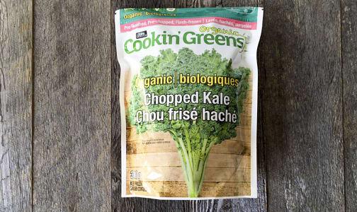 Organic Chopped Kale (Frozen)- Code#: FZ8014