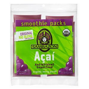 Organic Original Acai & Guarana Puree (Frozen)- Code#: FZ951