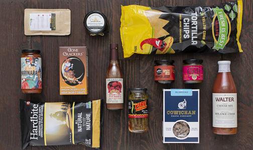 Gift Basket - BC Artisan Foods- Code#: GB1201