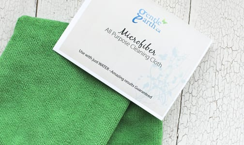 Microfiber All Purpose Cleaning Cloth - Green- Code#: HH0013