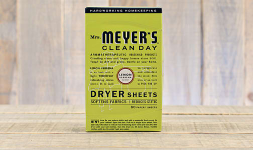 Lemon Verbena Dryer Sheets- Code#: HH0063