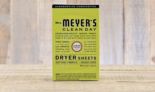 Lemon Verbena Dryer Sheets- Code#: HH0063
