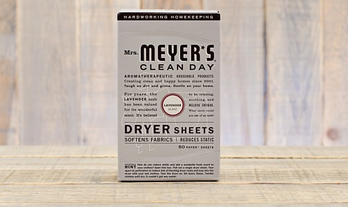 Lavender Dryer Sheets- Code#: HH0065