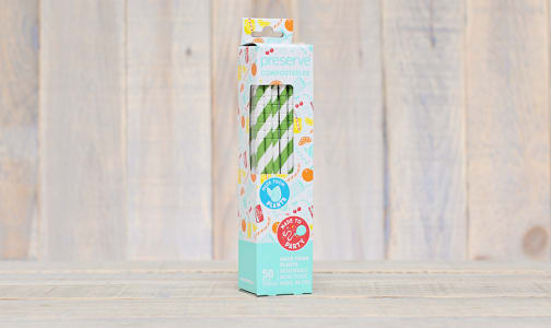 Compostable Straws - Green- Code#: HH0089