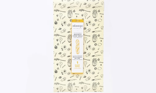 Beeswax Food Wraps   -   1 Giant Wrap!- Code#: HH0135