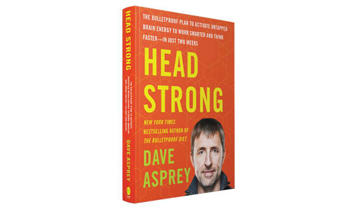 Head Strong by Dave Asprey Book- Code#: HH0153