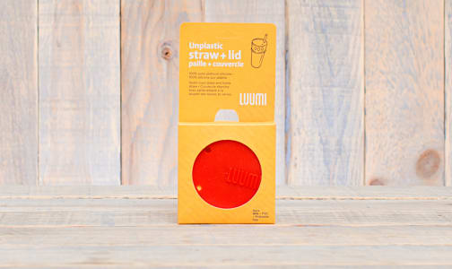 Red Lid with Straw- Code#: HH0167