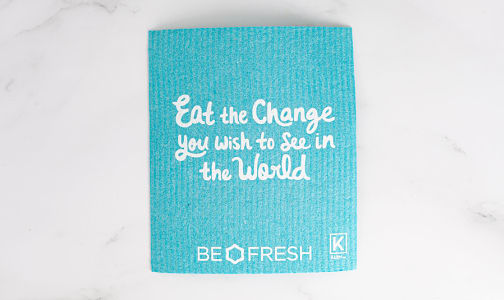 Reusable & Compostable Towel - Turquoise- Code#: HH0396