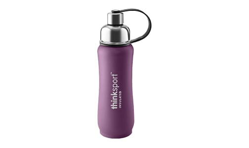 17 oz (500 ml) Insulated Sports Bottle - Purple- Code#: HH0435