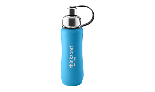 17 oz (500 ml) Insulated Sports Bottle - Light Blue- Code#: HH0443