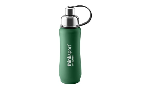 17 oz (500 ml) Insulated Sports Bottle - Green- Code#: HH0447