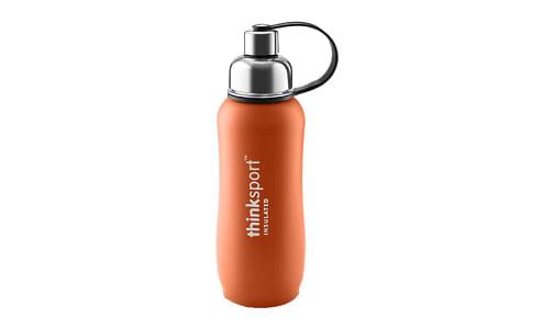 25 oz (750 ml) Insulated Sports Bottle - Orange- Code#: HH0467