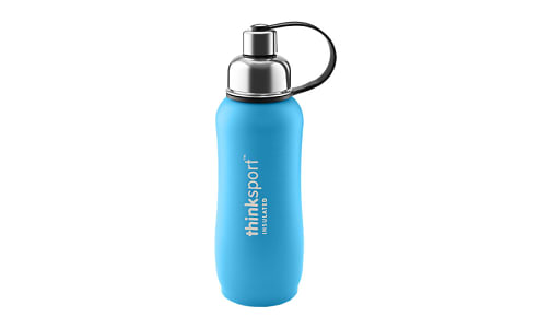 25 oz (750 ml) Insulated Sports Bottle - Light Blue- Code#: HH0468