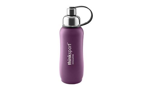 25 oz (750 ml) Insulated Sports Bottle - Purple- Code#: HH0472