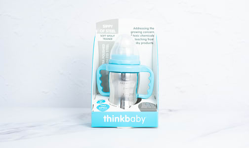 Stainless Steel Sippy Cup - Blue- Code#: HH0478