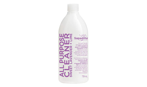 All Purpose Cleaner - Sweet Lavender & Lime- Code#: HH047
