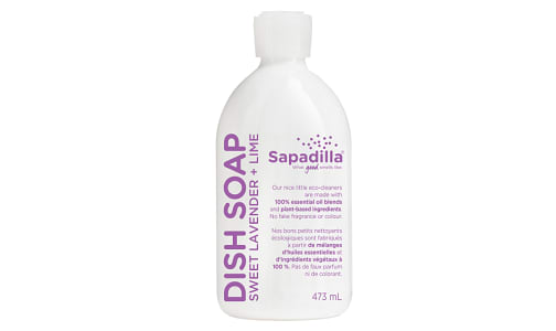 Dish Soap - Sweet Lavender & Lime- Code#: HH048