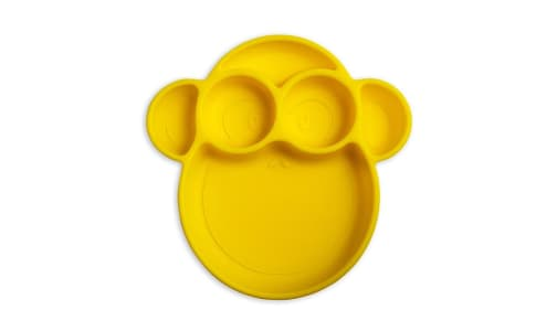 Suction Plate Yellow Monkey- Code#: HH0493