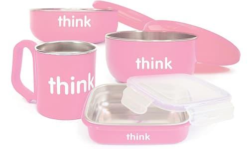 Complete BPA Free Feeding Set - Pink- Code#: HH0503