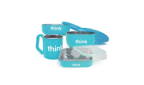 Complete BPA Free Feeding Set - Light Blue- Code#: HH0504