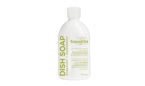 Dish Soap - Rosemary & Peppermint- Code#: HH052