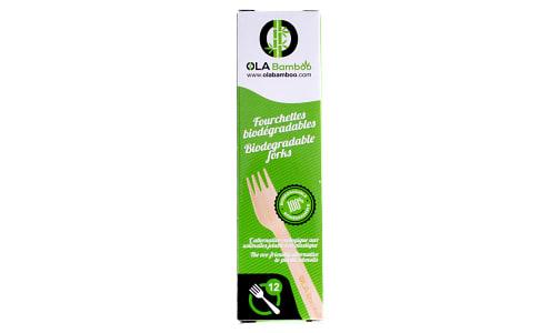 Biodegradable Wood Forks- Code#: HH0843