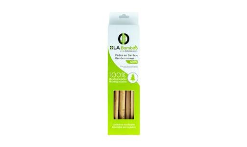 Bamboo Straws- Code#: HH0846