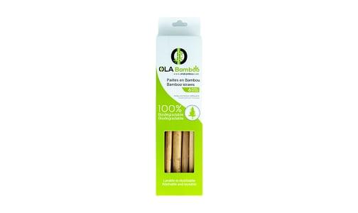 Bamboo Straws- Code#: HH0853