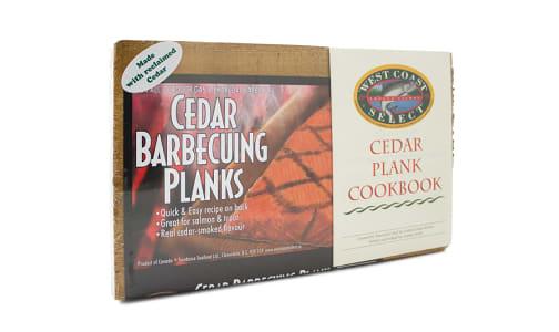 2Pack Cedar Planks + Cookbook- Code#: HH0927