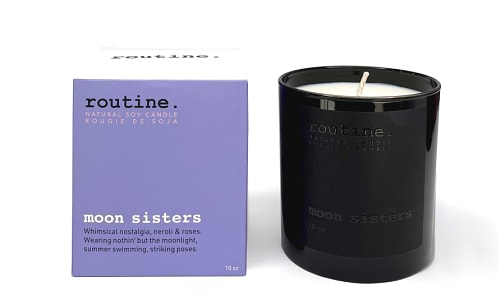 Moon Sisters Soy Wax Candle- Code#: HH0973