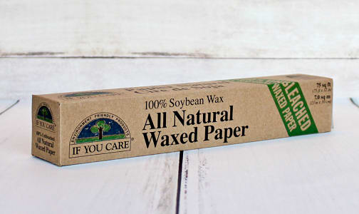 100% Soybean All Natural Waxed Paper- Code#: HH3202