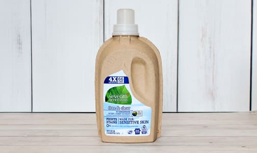 Free & Clear 4x Laundry Liquid- Code#: HH3320