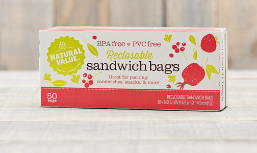 Sandwich Bags - Recloseable- Code#: HH931