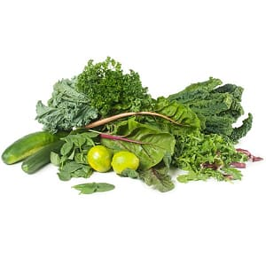 Organic Essential Greens Juicing Box- Code#: JU009