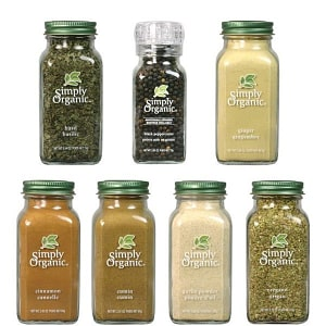 Simply Organic Spice of Life- Code#: KIT0006