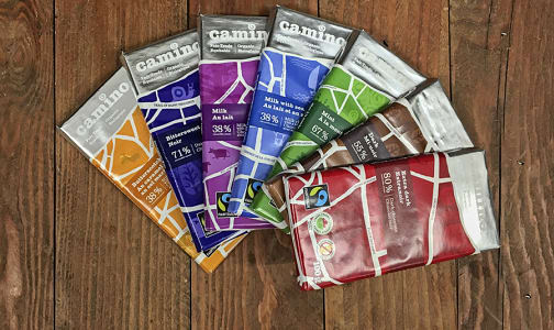 Organic Camino Fair Trade Chocolate Sampler- Code#: KIT0027