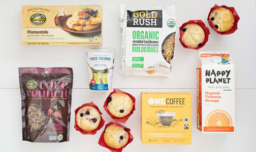 Breakfast In Bed Ingredient Bundle- Code#: KIT0088