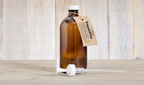 Refillable Dish Soap with Pump - Rosemary & Peppermint- Code#: KIT0166
