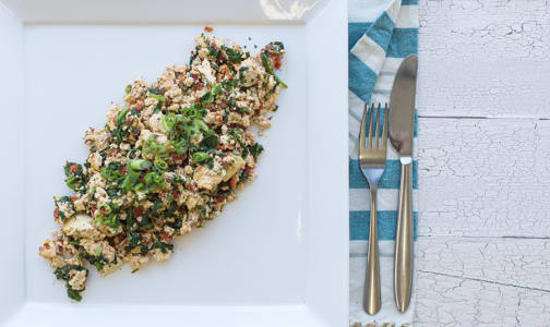 Veggie-Filled Tofu Scramble- Code#: KIT1455
