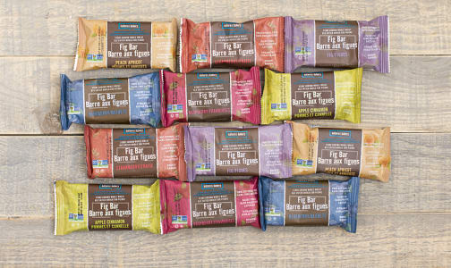 Assorted Whole Wheat Fig Bars - Mix & Match- Code#: KIT1608