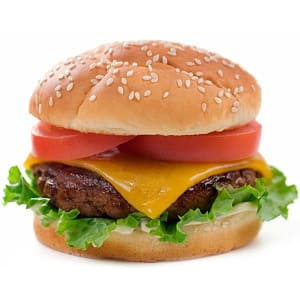 Angus Cheeseburger Dinner- Code#: KIT1800