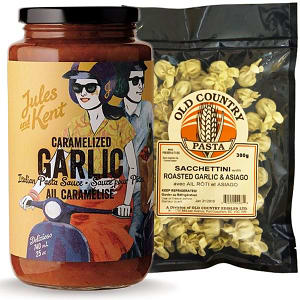 Local Garlic Lovers Pasta Combo- Code#: KIT1960