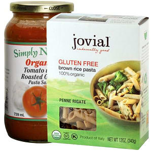Gluten Free Pasta Dinner Combo Ingredient Bundle- Code#: KIT1963