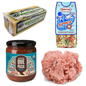 Kid's Mexican Pasta Bake Combo Ingredient Bundle- Code#: KIT1964