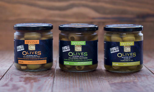 Divina Stuffed Olive Trio- Code#: KIT1970