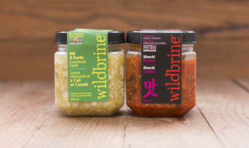 WildBrine Fermented Foods Sampler Kit- Code#: KIT1973