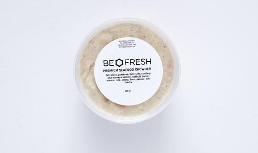 Premium Seafood Chowder (Frozen)- Code#: LL0058