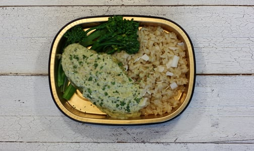 Thai Green Curry Chicken with Coconut Rice- Code#: LL0088